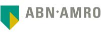 Het logo van de ABN AMRO bank