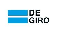Het logo van de beleggingsbank DeGiro