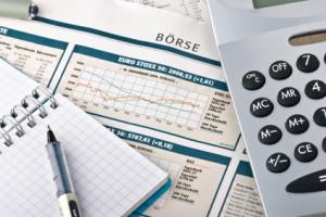 Marktgrafieken met Rekenmachine voor Beleggingsrekeningen